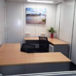Upper 7 is a great space. With 10.75m2 this room is more than just a double size office. There is plenty of room left for storage, business machines or visitor's chairs. As with all of our offices, a large window opens onto the shared areas. Open this up for that community feel or close the blinds for some focused work time.